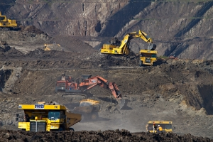 Gambar kegiatan pertambangan batu bara. (sumber gambar: unsplash.com/dominik-vanyi